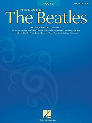 Wind & Woodwinds Audacious Best Of The Beatles 2nd Edition Flute Chart Book New 000847217 Lustrous Surface