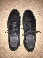 COS Platform Black Leather Lace Up Shoe Size 5 Blogger Minimal Normcore