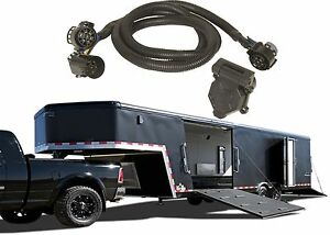 hopkins 41157 5th wheel gooseneck trailer wiring kit harness new rh ebay com