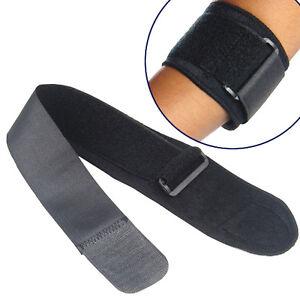 Black-Adjustable-Tennis-Fitness-Elbow-Support-Strap-Pad-Neoprene-Sport-Golf-Pain