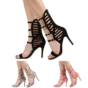 NEW-WOMENS-LADIES-STILETTO-HIGH-HEEL-MULTI-STRAPPY-PARTY-SANDALS-SHOES-SIZE-3-8
