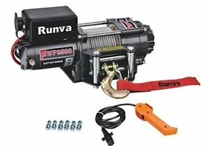 Details about New EWP 3500lb Super Deluxe Runva Winch Atvs Trailer JEEP  With Handheld Remote
