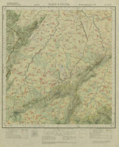 Asia Maps Survey Of India 73 J/4 Odisha Rairangpur Badampahar Jadida Kuldiha 1926 Map Elegant And Sturdy Package