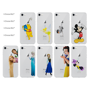 Disney-Cartoon-Gel-Case-for-Apple-iPhone-4-4s-5-5s-5c-SE-6-6s-7-8-Plus-X-XS