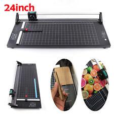 24 Paper Cutter Paper Trimmer Black Photo Guillotine Craft Machine Us