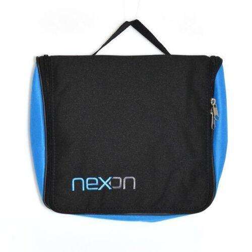 Sherwood Nexon Ice Roller Hockey wash Toiletry Bag Black Blue NEW