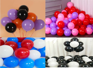 10 inch Matte Latex Balloons Helium Thickening Balloon Wedding Decoration Black