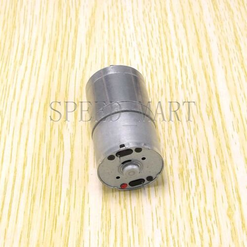 Reversible 25mm 6V DC 357 RPM Gear-Box Speed control Electric Torque Motor