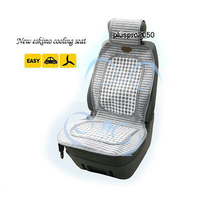 Cooling Seat Fan Cool Air Breathing Car Seat Cover 12V