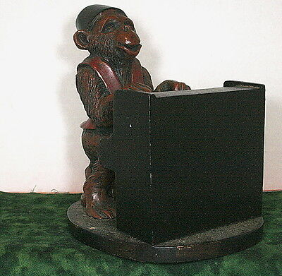 Ltd Modern Techniques Imported By Cbk 2001 Monkey Playing A Piano Statuette