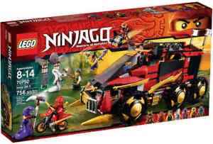 LEGO-NINJAGO-70750-Mobile-Ninja-Basis-NEU-OVP