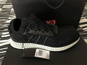576631d17e5458 Image is loading Adidas-Y-3-RUNNER-4D-2-BLACK-BRAND-