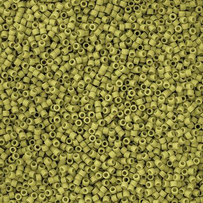 n13//3 Miyuki Size 15//0 seed beads 15-163 Transparent Yellow Luster 8.2 g
