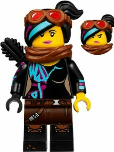 LEGO Movie 2 Escape Buggy 70829 Lucy Wyldstyle with Black Quiver MINIFIGURE Only