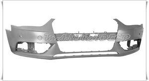 AD1569211-PARAURTI-ANTERIORE-PRIMER-CON-FORI-SENSORI-AUDI-A4-2011-gt-FRONT-BUMPER
