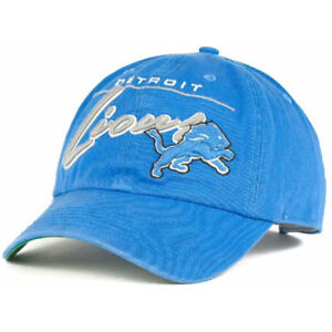 108a68ad Details about Detroit Lions '47 Brand Pelham Slouch Relaxed Curved Snapback  Dad Hat Blue NEW