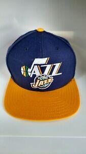 1d88a104 Vintage Utah Jazz Snapback Hat/Cap Retro Adidas NBA 90's Snapback ...