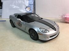 1/24 Franklin Mint Silver 2009 Corvette Z06 ZO6 Competition Sport 242 of 427