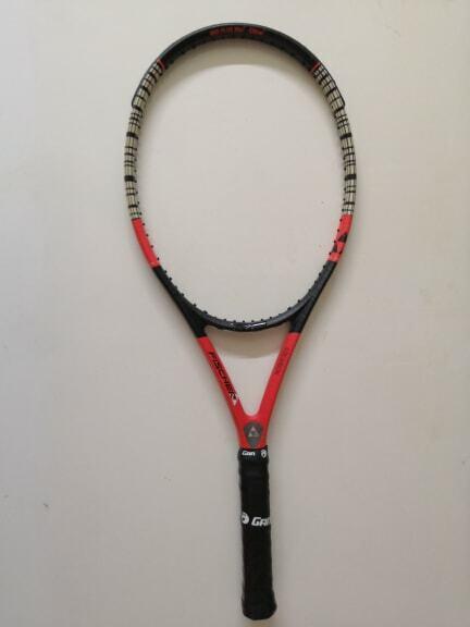 Fischer Pro Tour FT air voiturebon ti 98 head 4 3 8 grip Tennis Racquet