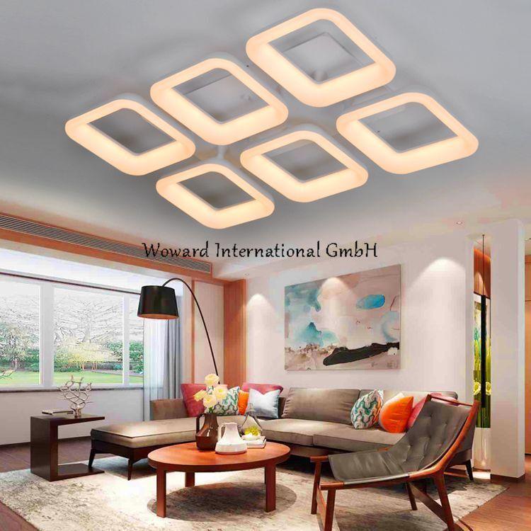 WOW LED Deckenlampe Deckenleuchten WOW-7103 warmweiß   dimmbar Fernbedienung