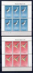34806) New Zealand 1959 MNH Health 2 Ms