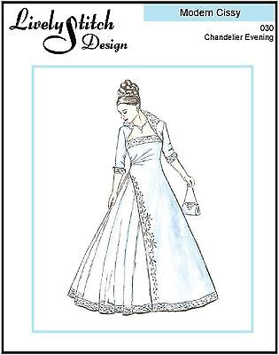 """sewing pattern for the 21/"""" Modern Cissy by Madame Alexander One Day"""