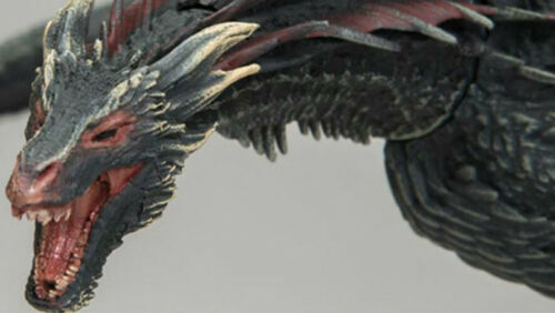 Game Of Thrones DROGON Black Dragon Joints Movable Collection Action Figure Toys