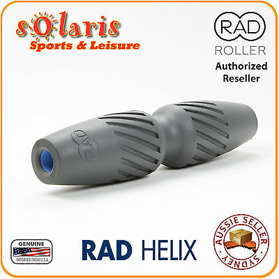 RAD HELIX Foam Roller Muscular Release Toxins Flushing Tool Pain Relief Massager