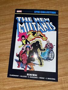 Marvel Epic Collection The New Mutants Vol 1 Renewal TPB Graphic Novel
