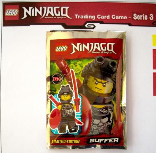 Figur Buffer OVP Fieser Bösewicht LEGO NINJAGO Limited Edition Polybag