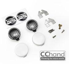 2pcs CC HAND 1/10 HELLA 3000 RALLYE high performance circular lights  No Coating