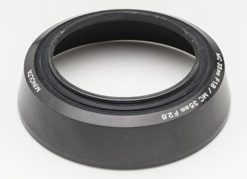 Minolta controluce Mascherina Lens Hood MC 35mm F 1.8 35 mm 1:2 .8