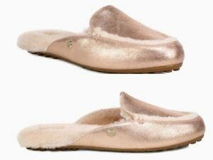 1e641598d21 UGG Lane Sheepskin Metallic Loafers Women's US Size 9 Brand New | eBay