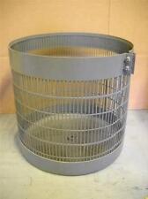 "Steel  12-3/4"" Implosion Shield For Vacuum Evaporator Bell Jar Cover"
