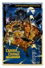 CARAVAN OF COURAGE movie poster EWOK ADVENTURE animal heros SCI-FI 24X36
