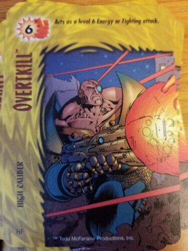 Marvel Overpower Image Overtkill High Caliber NrMint-Mint Card