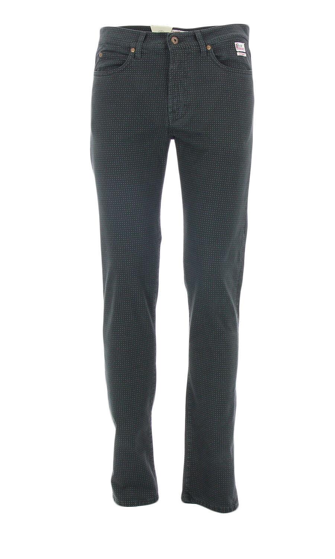 Pantalone Pantalone Pantalone da uomo colore antracite con micro fantasia Roy Roger's 927 Superior M 11d29f
