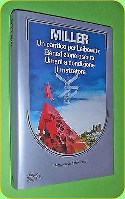 I MASSIMI DELLA FANTASCIENZA N.17 WALTER MILLER JR.  ED. MONDADORI 1988 OTTIMO