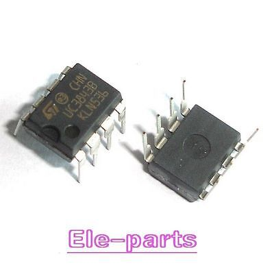 10PCS PWM CONTROLLER IC ST DIP-8 UC3843B UC3843BN E-UC3843BN