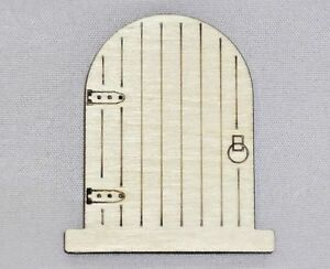 Image is loading Wooden-Fairy-Door-Shapes-Faerie-Doors-Pixy-Elf-  sc 1 st  eBay & Wooden Fairy Door Shapes Faerie Doors Pixy Elf Doors Step | eBay