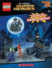 LEGO DC Super Heroes: Enter the Dark Knight by Ameet Studio Staff (2016, Paperback, Activity Book)