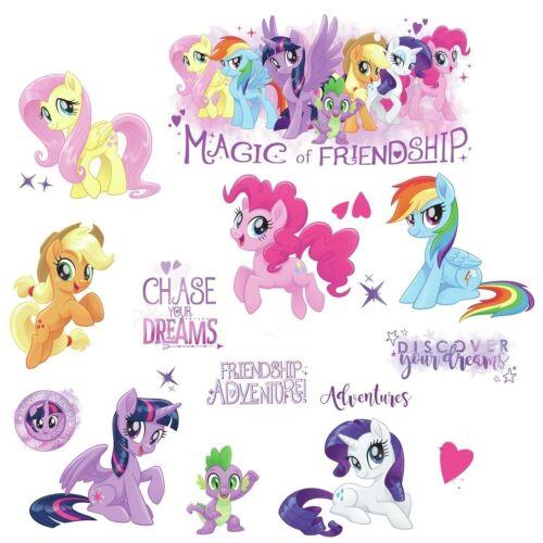 RoomMates My Little Pony 18 pces mural Sticker mur wandkleber Autocollant