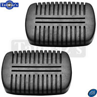 55-59 Chevy Gmc Pick Up Pickup Truck Brake Or Clutch Pedal Rubber Pad - Pair