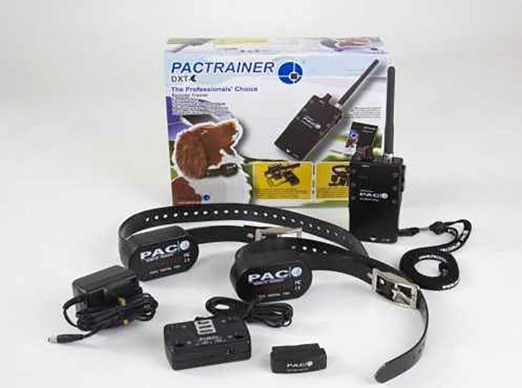 PAC DXT 6  -2 DOG BXC COLLARS 1 MILE RANGE