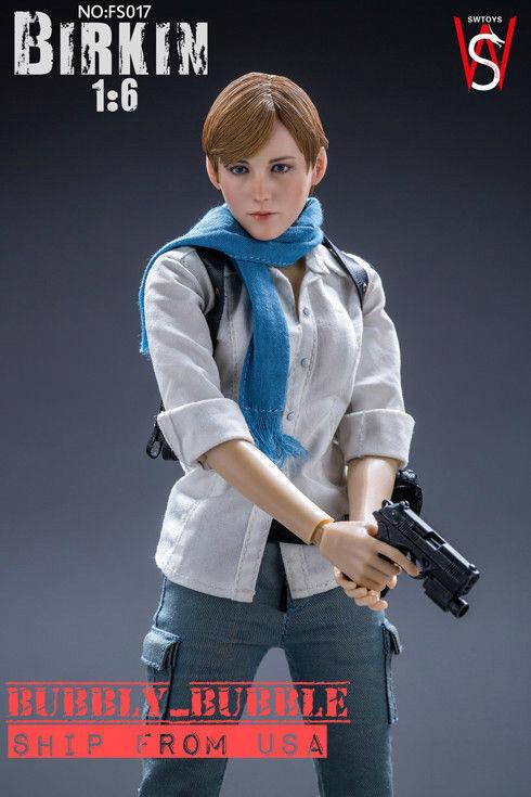 SW 1 6 Sherry Birkin Female Figure Full Set For Resident Evil 6 FS017  USA