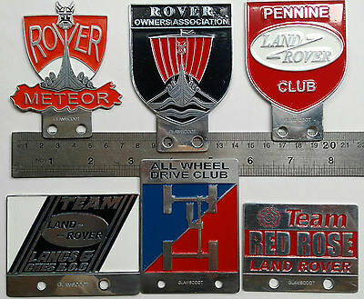 Flight Tracker 6x Vintage Land Rover Badge Defender For Sale Association Classic Series 1 2 3 A Vehicle Parts & Accessories