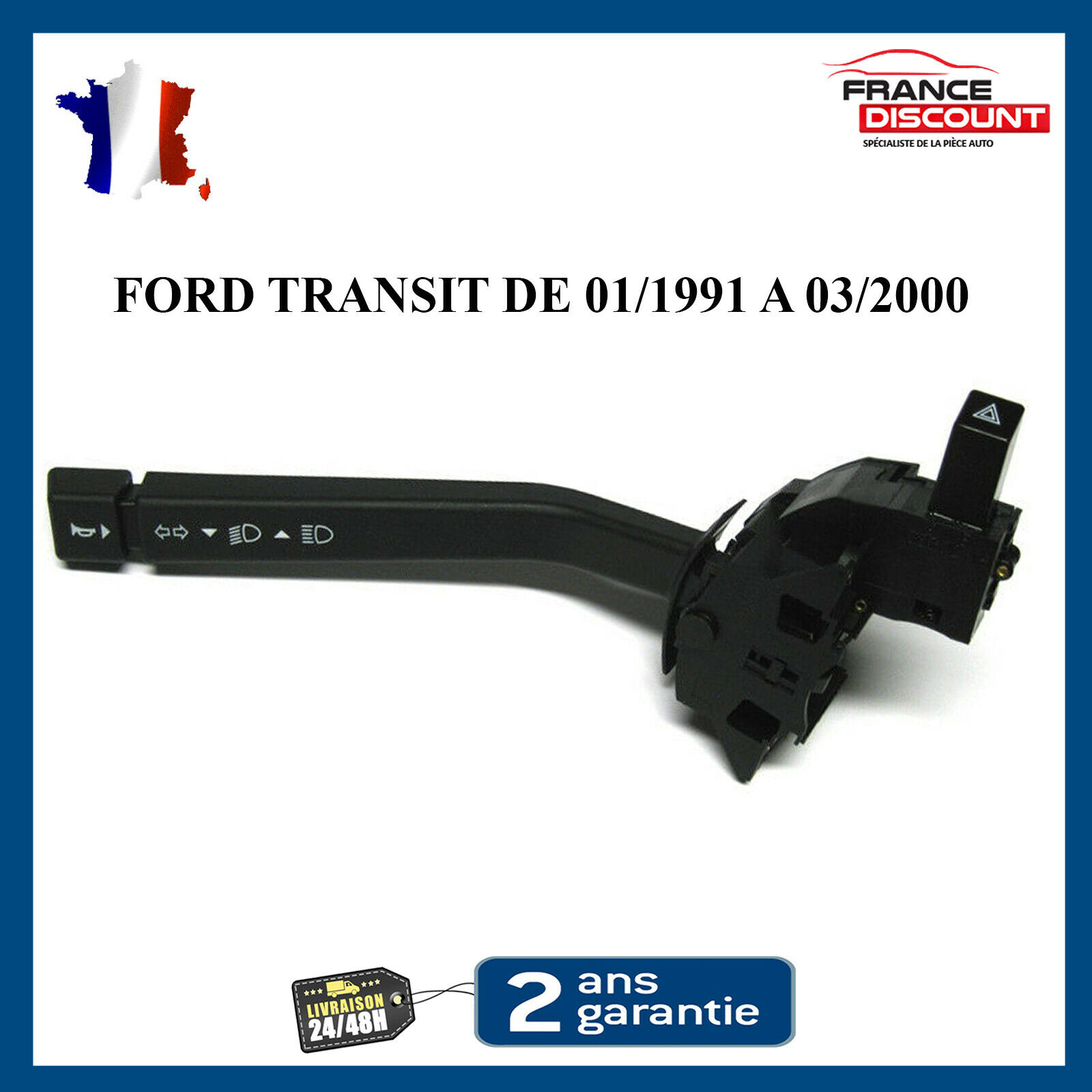 Tallo INDICADOR INTERRUPTOR combinado se ajusta Ford Transit Mk4//5 2.5 TDI 1991-00