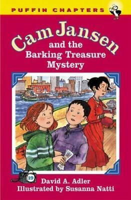 Cam Jansen and The Barking Treasure Mystery by David A. Adler Paperback