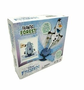 Disney-039-s-FROZEN-Frantic-Forest-Board-Game-Olaf-Cardinal-Tree-Spin-Master