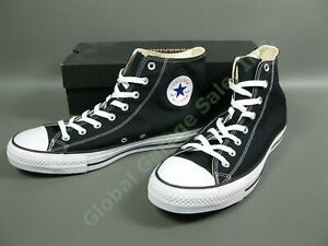 NEW Converse All-Star HI-Black Shoe Pair M9160 Unisex Size Men 13 Women 15 Box